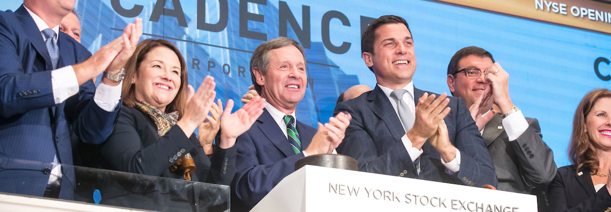 Cadence Bank Lists on the NYSE