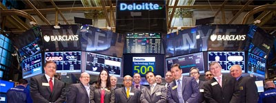 Deloitte at the NYSE