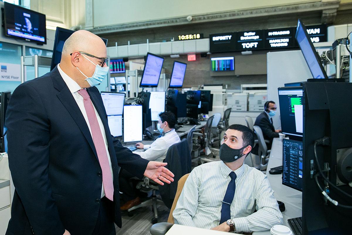 Serge Sheynkman NYSE