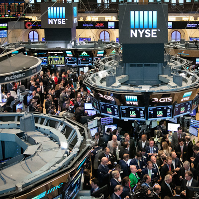 equities traded at the nyse