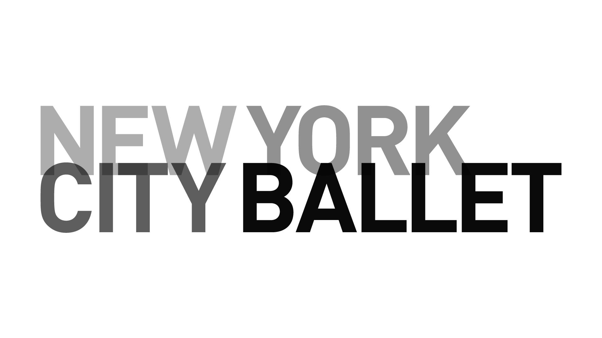 Картинки по запросу new york city ballet logo